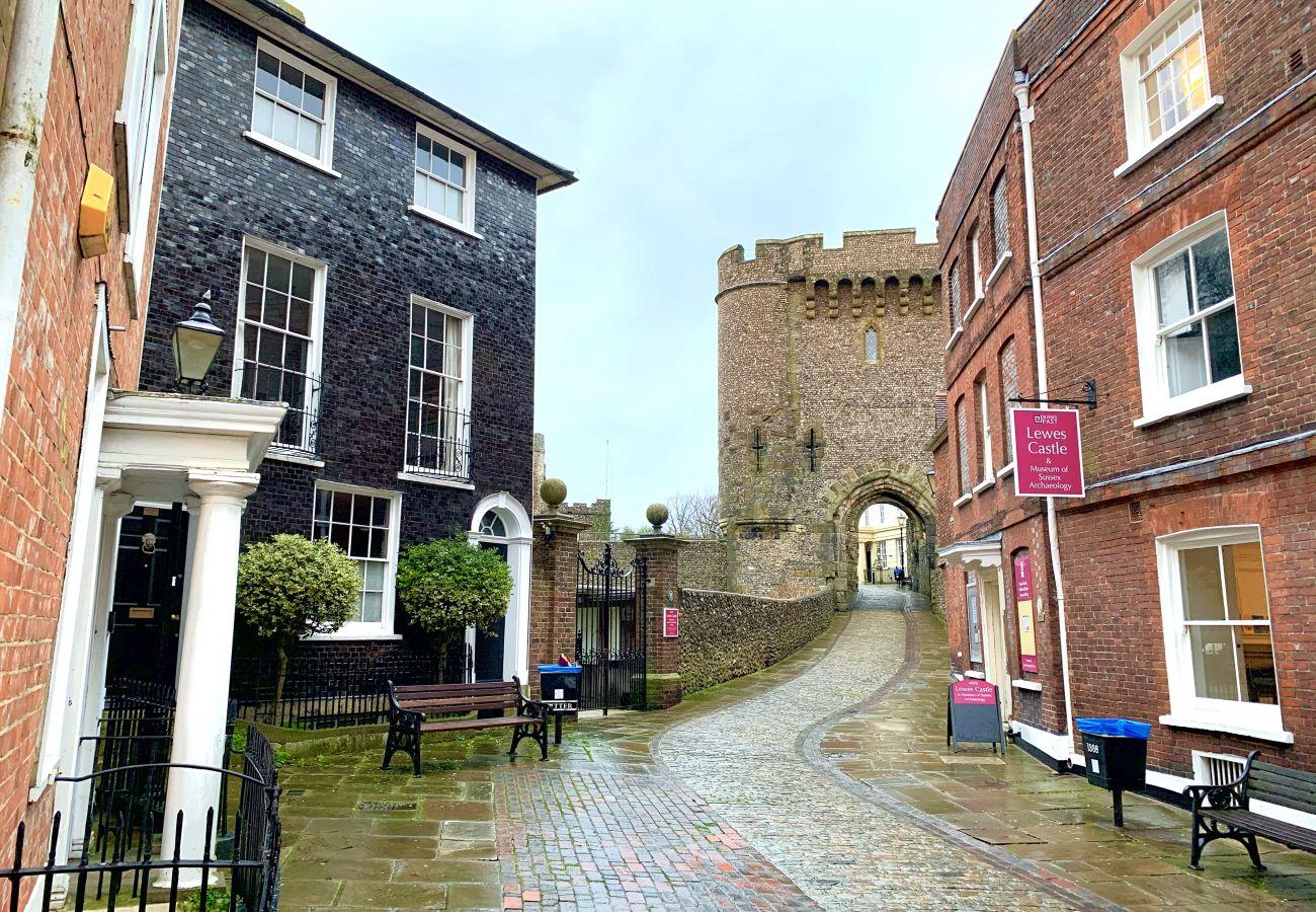 Ferienwohnung in Lewes - The High Street Hideaway